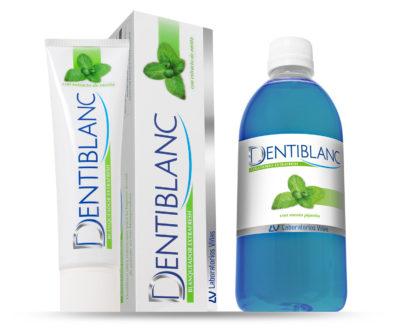 DENTIBLANC Blanqueador EXTRAFRESH es un dentífrico de potente acción blanqueadora que proporciona un aliento ultra-refrescante.